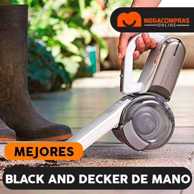 Aspiradoras de mano Black and Decker